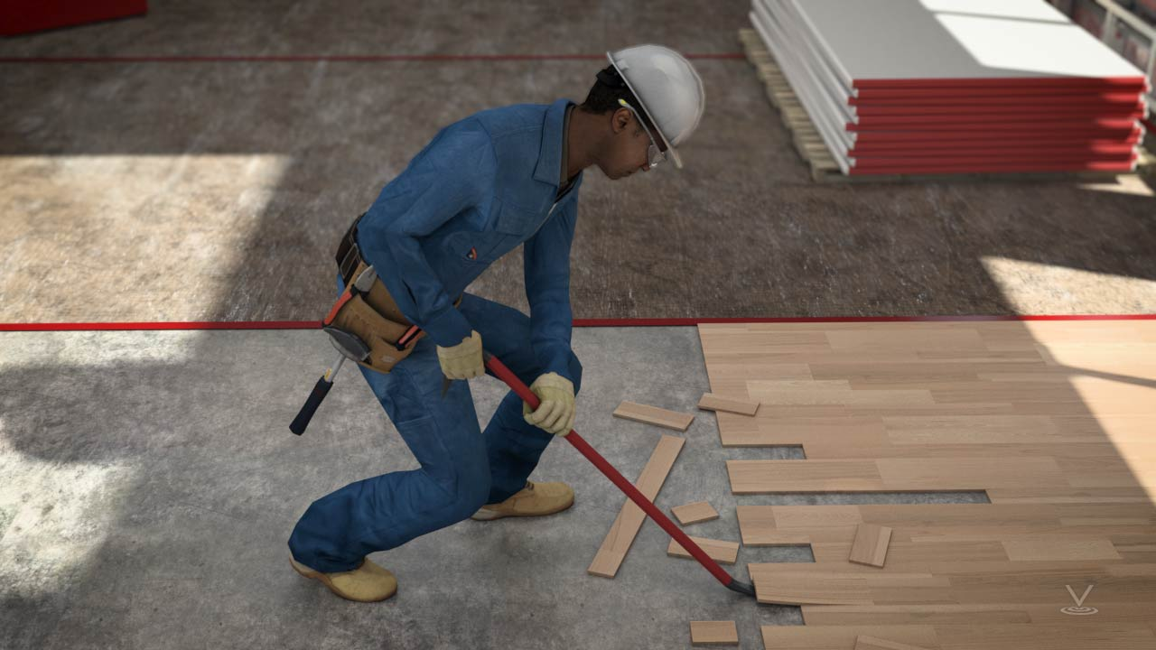 Always keep a balanced footing and a firm grip on the tools during use.