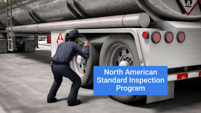 The CVSA developed the North American Standard Inspection Program to ensure a uniform and reciprocal roadside inspection and enforcement process.