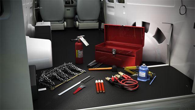 To ensure safety, you should have emergency supplies in your vehicle at all times.