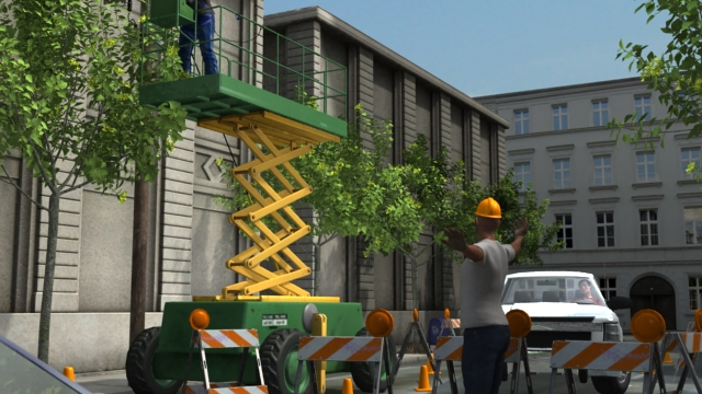 3D render of the best ways to ensure safety from electrical hazards.