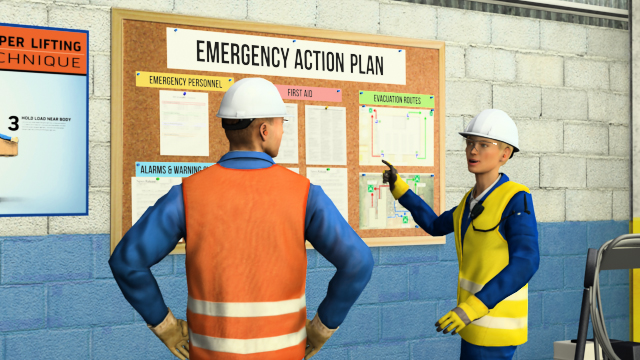 Your workplace should have an emergency action plan that explains the procedures to follow during various emergencies.