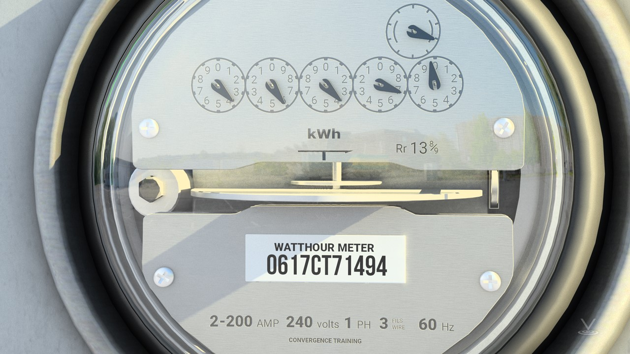 Electricity is measured using primary electric meters and submeters that monitor the usage downstream of the primary meter.