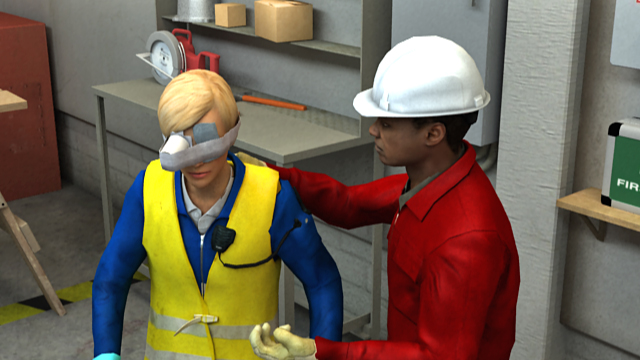 If someone does suffer an eye injury at work, it's important to know proper PPE procedures