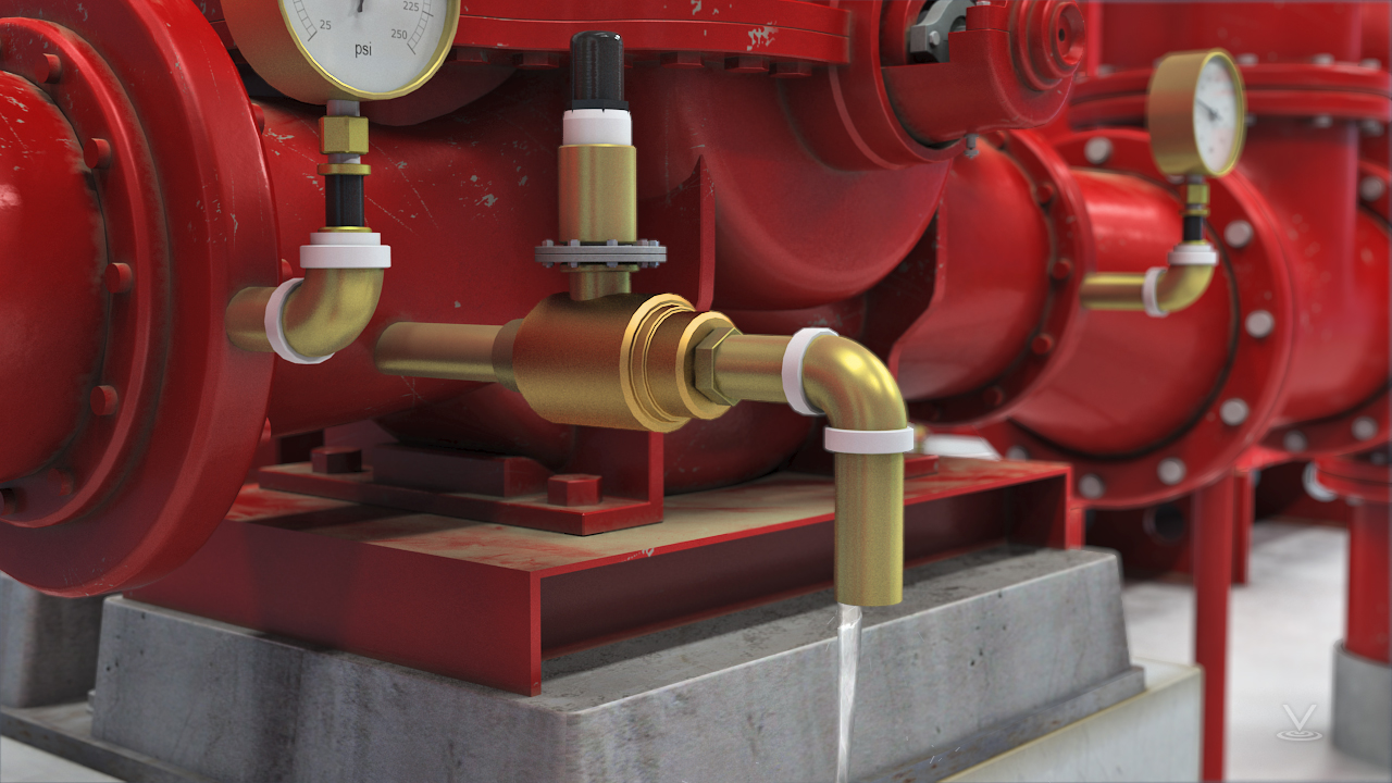 The casing relief valve will open at a pre-determined pressure and protect the pump from damage.