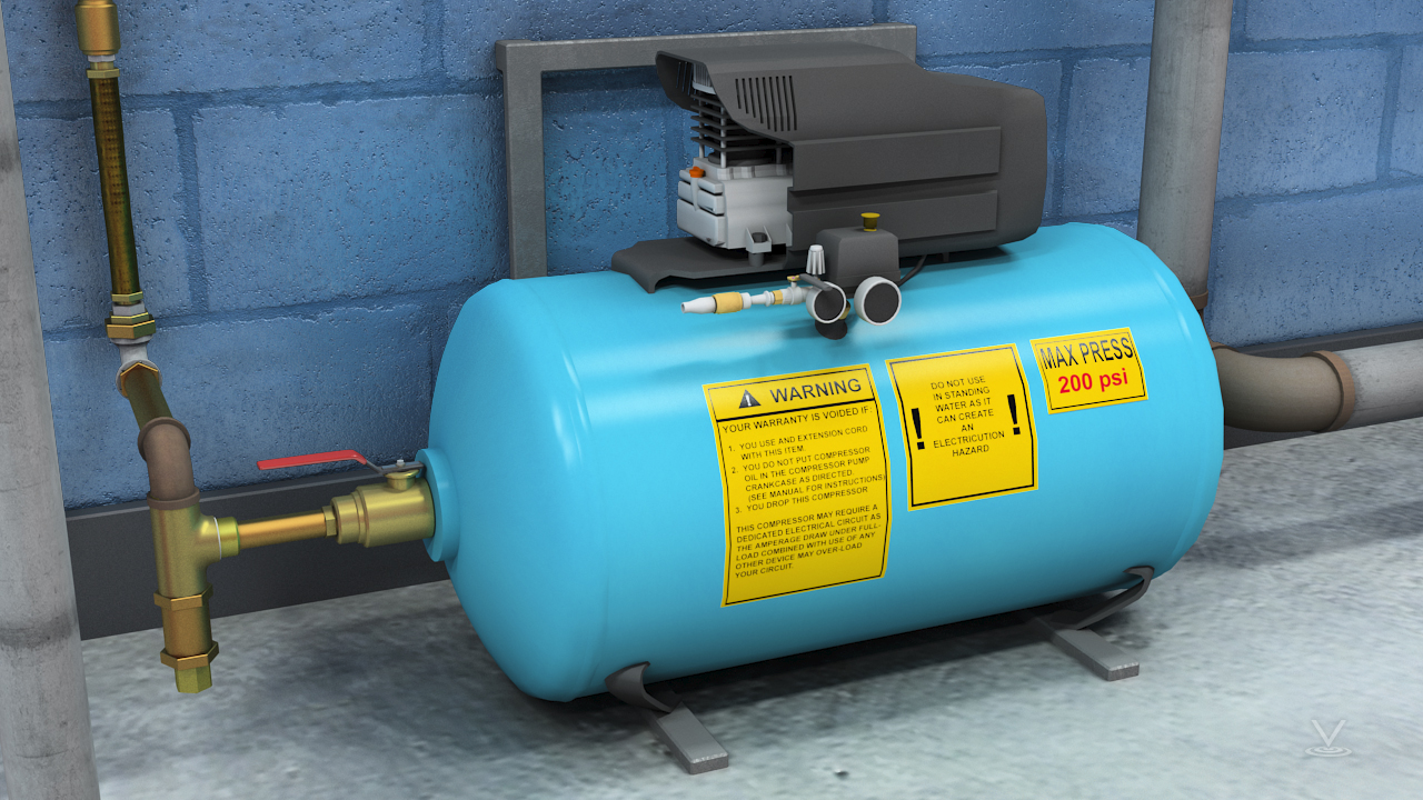 A reliable compressed air or gas system automatically keeps the system pressure at the required level.