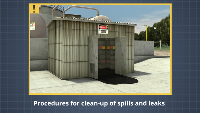 An MSDS must contain procedures for clean-up of spills and leaks.