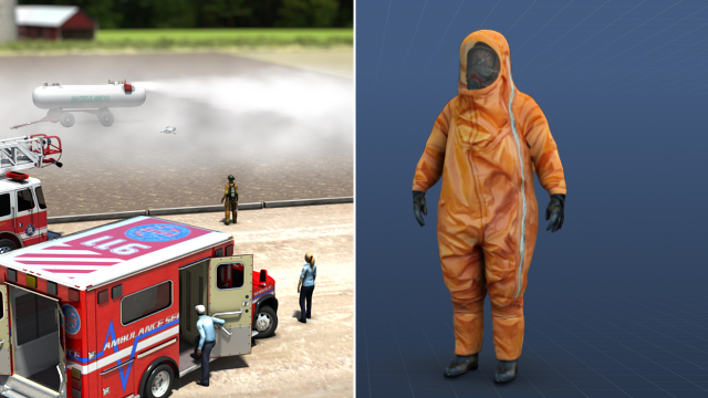 Protective clothing must be selected based on the hazards that are present.