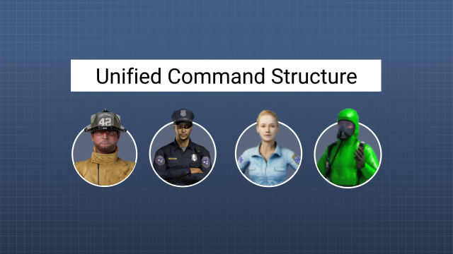 When there is more than one agency with incident jurisdiction, they must establish a unified command structure and work together to create a common set of objectives and a single incident action plan.
