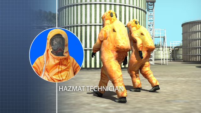 Hazmat technicians respond to releases, or potential releases, for the purpose of stopping the release.