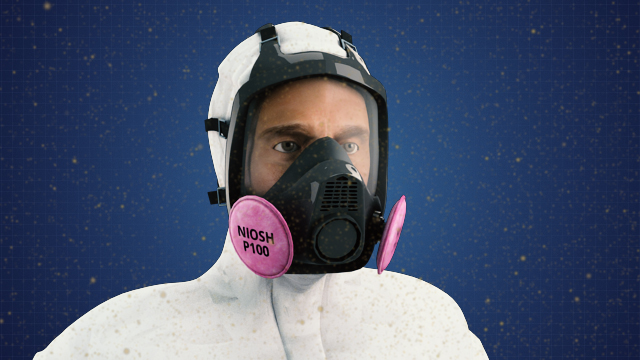 Particulate respirators use filters to protect against exposure to solid particles or liquid droplets dispersed in air.