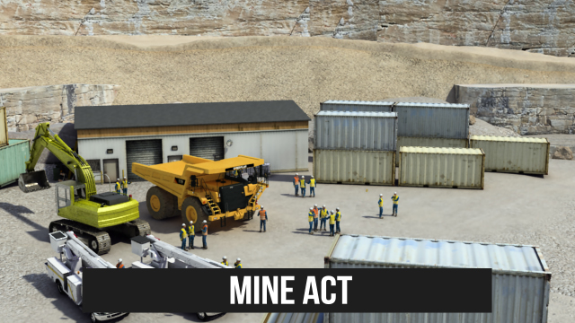 The Mine Act strengthened and expanded miners' rights and enhanced the protection of miners beyond coal mining to metal and nonmetal mining operations.
