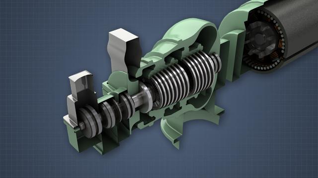 Multi-Stage Turbines - Convergence Training
