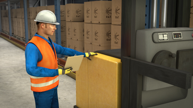 Inspect your order picker before each use to ensure it is in safe working order.