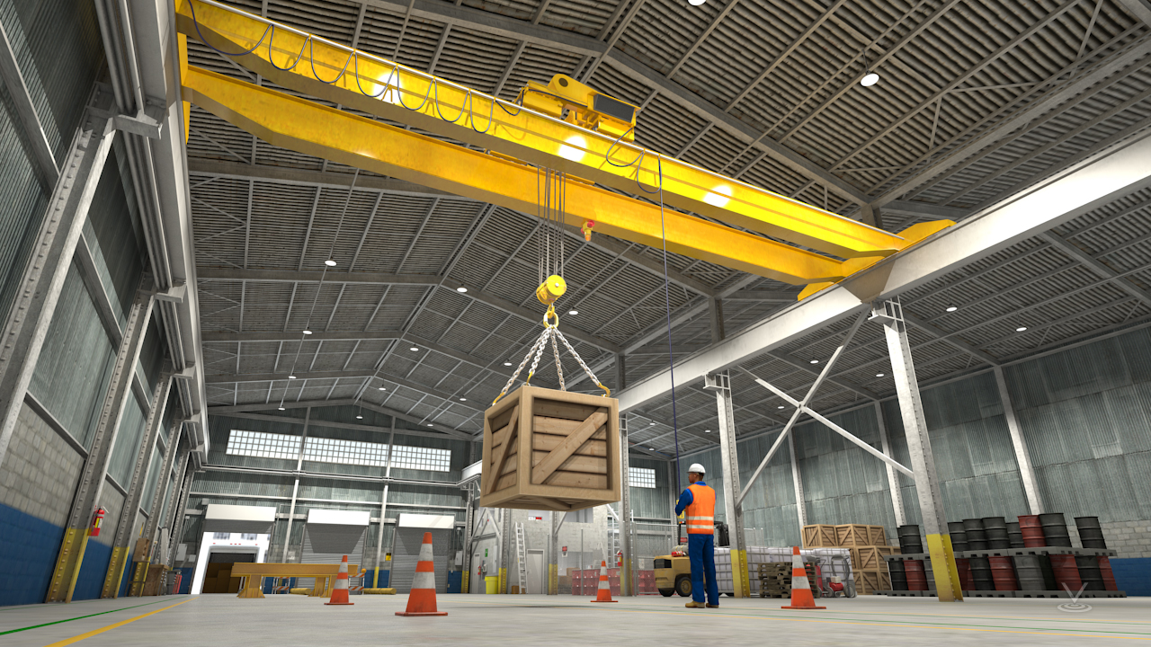 Never operate a hoist unless you've been properly trained and are authorized by your employer to do so.