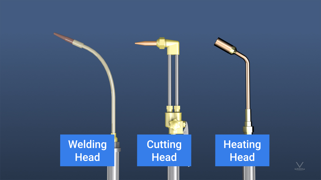 In addition to being able to weld metal together, an oxyacetylene welding apparatus can also be used to heat larger areas of metal prior to forming or bending, or can be used to efficiently cut through steel.
