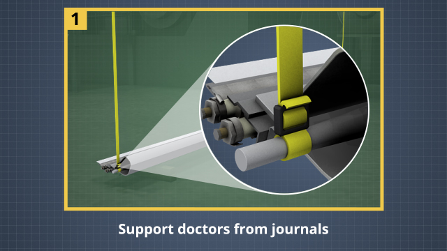 During handling, always support doctors from their journals