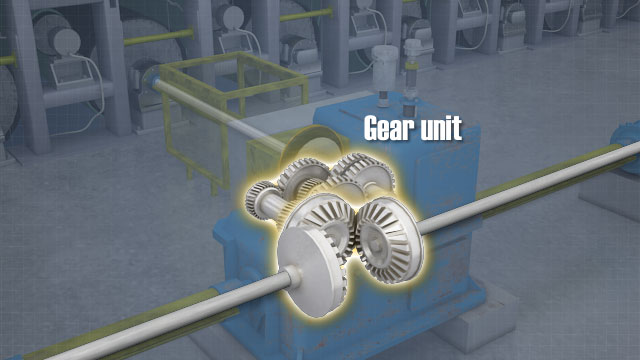 Paper Machine Line Shaft Drives Convergence Training