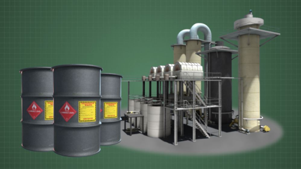 Reduce or eliminate hazardous materials required to produce the product.
