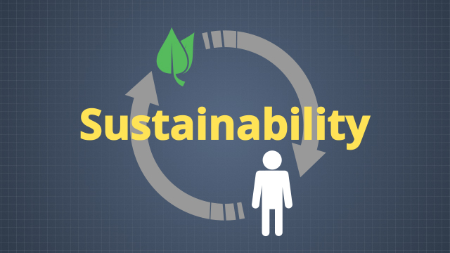 Sustainability is the idea of creating and maintaining conditions which allow people and the environment to exist in support of each other for both present and future generations.