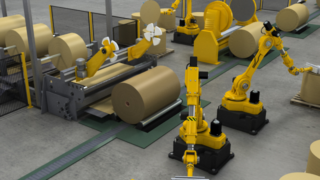 Paper Roll Handling And Wrapping Video Convergence Training