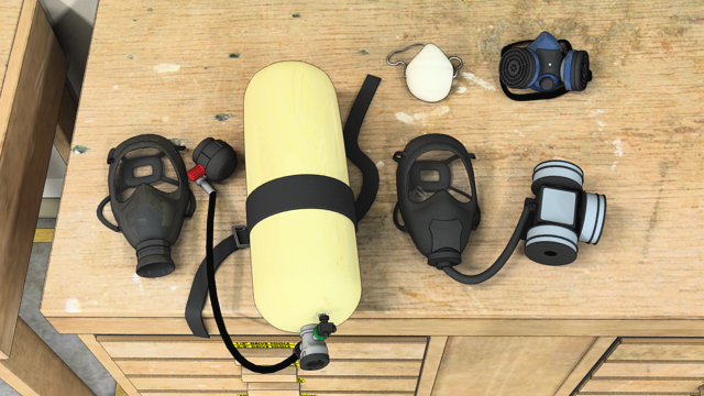There are many different types of respirators. Each type is intended to be used in a specific set of circumstances.