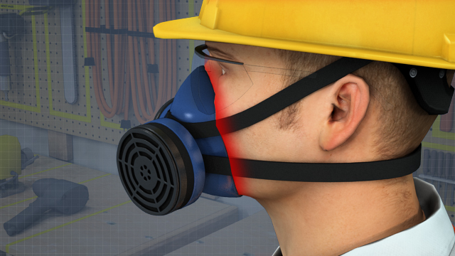 Tight-fitting respirators fit tightly against the face, keeping possible contaminants outside