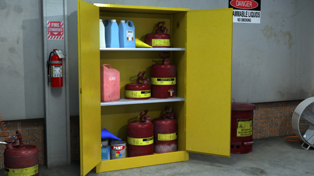 Combustible liquids have special handling and storage requirements.