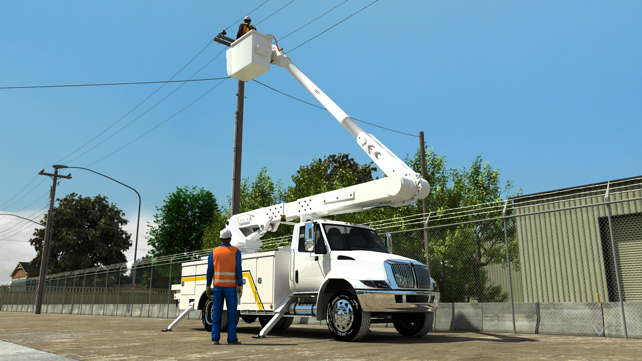 Vehicle-mounted aerial devices are frequently used for electrical work and are categorized based on the level and type of protection they offer from electrical hazards.