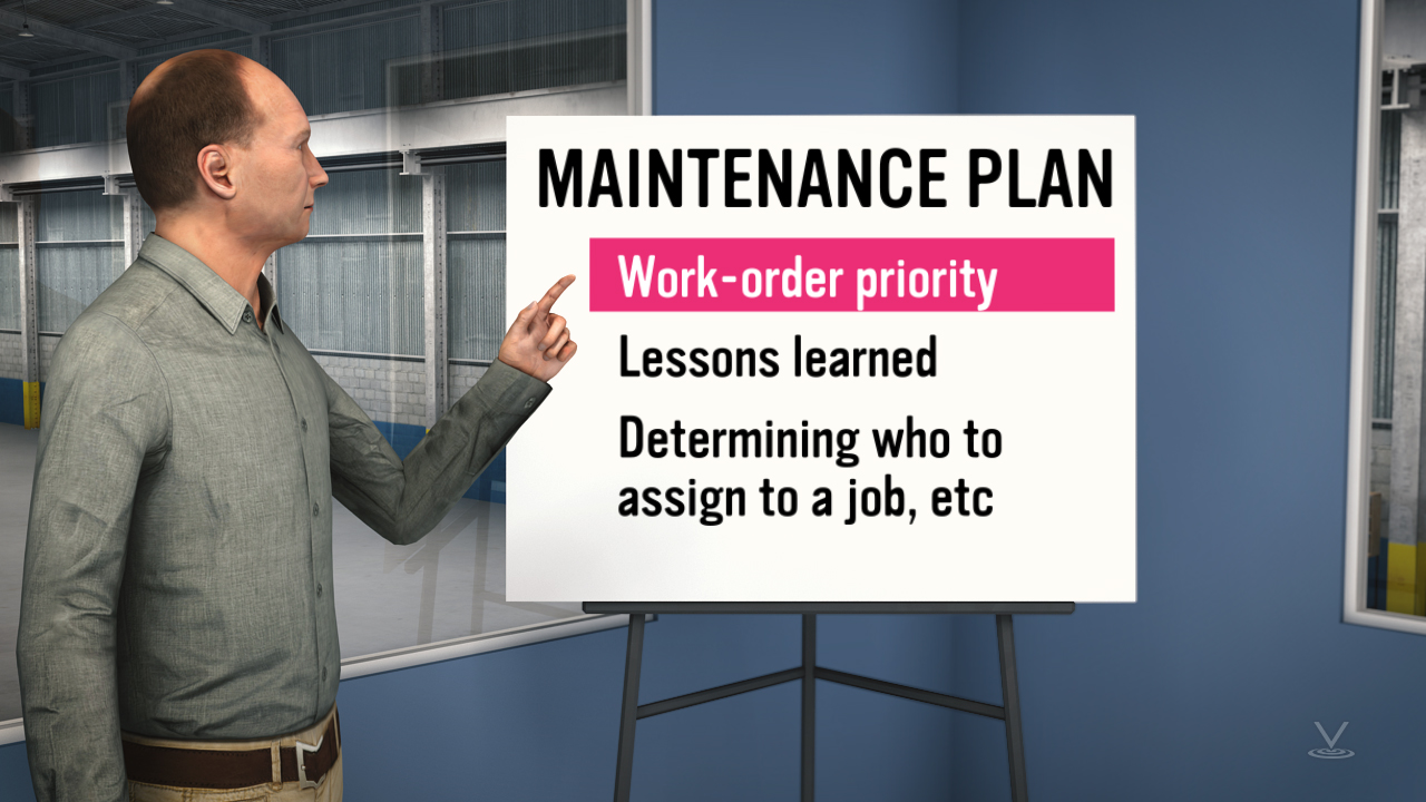 Before CMMS came to exist, a maintenance plan was up to the discretion of the maintenance manager or his designee.