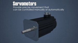 Picture of a servomotor