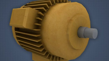 picture of an AC motor