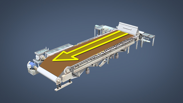 The purpose of a forming fabric is to dewater and support the sheet as it forms, and carry the formed sheet to the next section of the paper machine