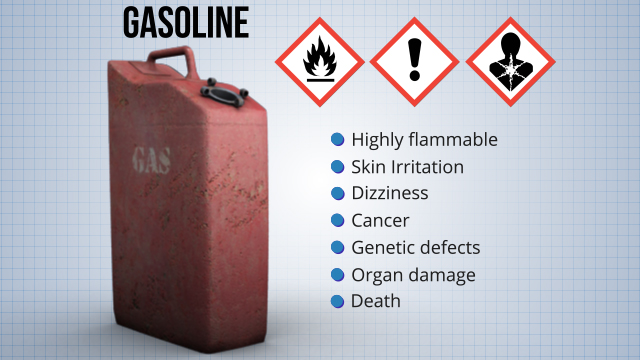 Many chemicals present more than one hazard, so they can belong to more than one hazard class.