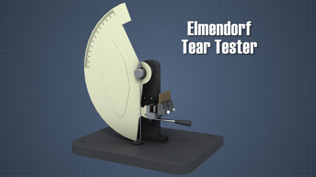 Tear is determined by measuring the amount of force required to tear a sample.