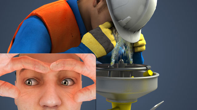 Hold the eyes open and flush them thoroughly with water after any eye exposures.