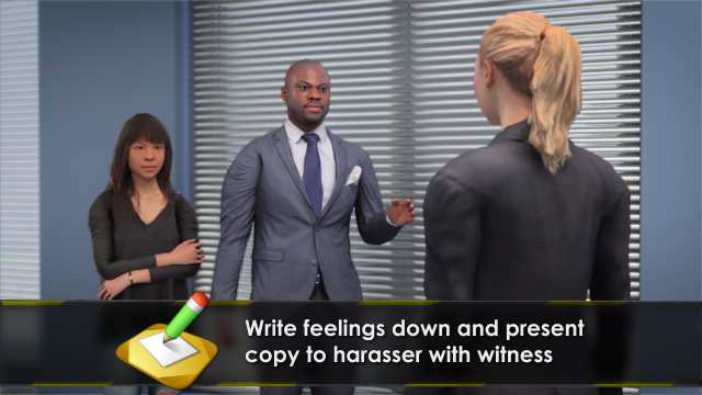 Sexual harassment videos training german
