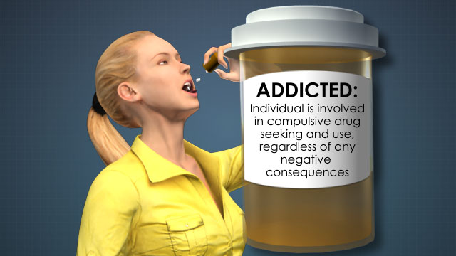 "Addictive drugs produce a ""high"", or feeling of euphoria, because they increase the brain's level of dopamine (the brain's reward and pleasure center)."