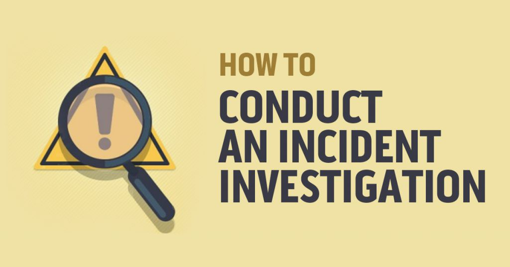 How to Conduct an Incident Investigation Image