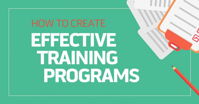 How To Create An Effective Training Program 8 Steps To Success Convergence Training