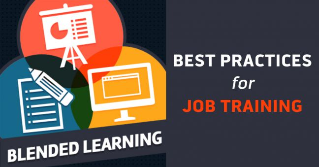 Blended Learning for Job Training Image