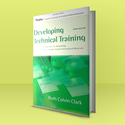 developing technical training book image