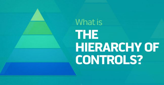 What is the Hierarchy of Controls image