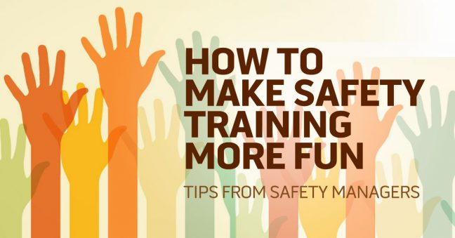 fun and engaging safety training image
