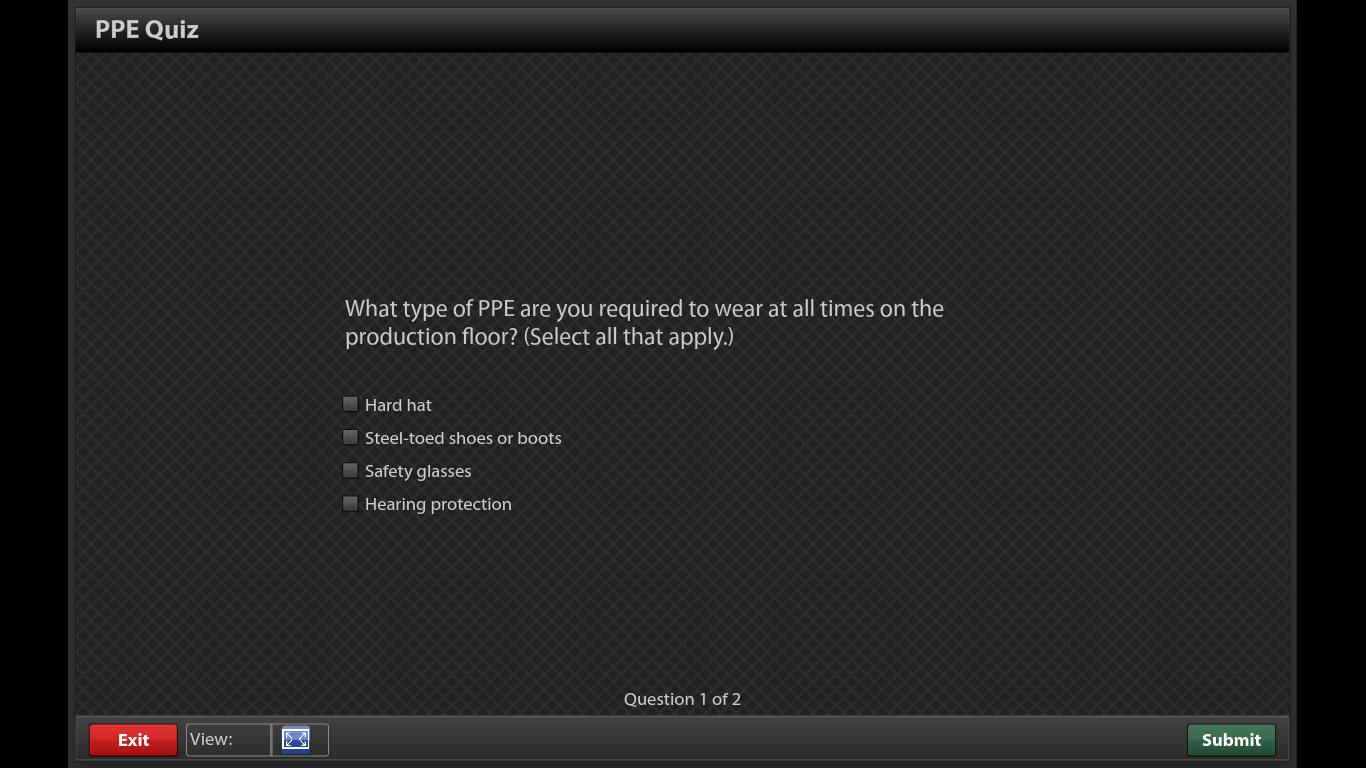 PPE Quiz
