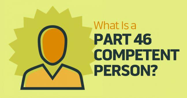 MSHA Part 46 Competent Person