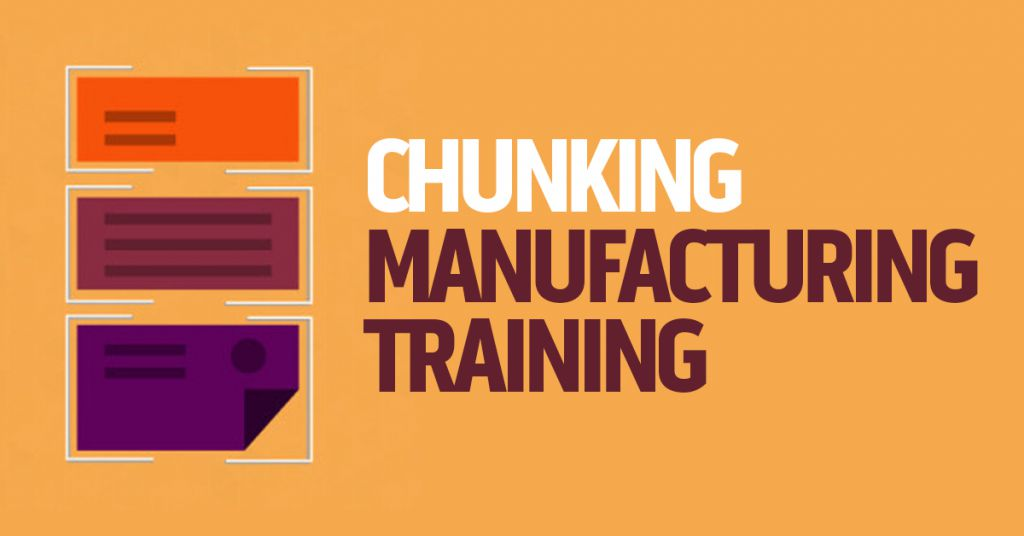 Chunking Manufacturing Training Image