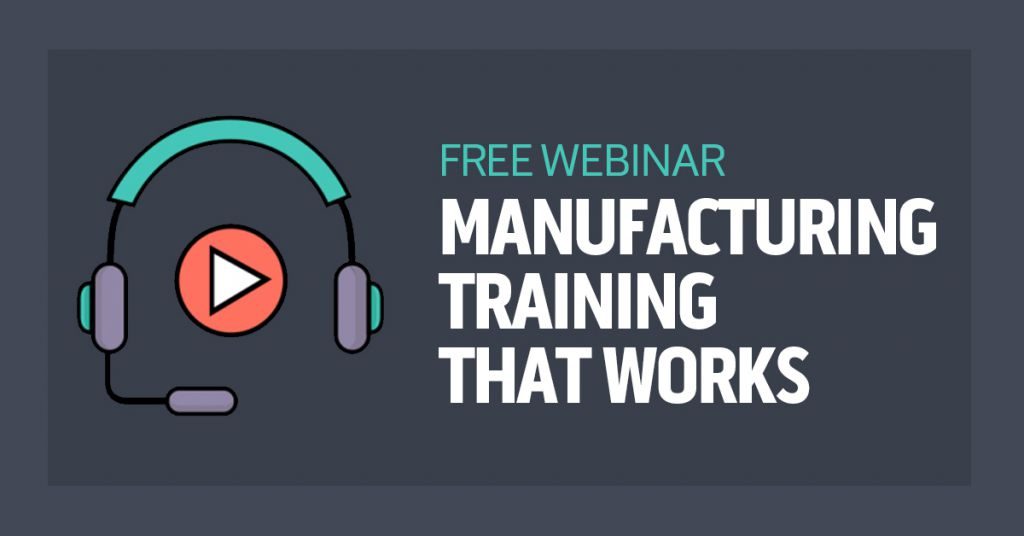 Manufacturing Training Recorded Webinar Image