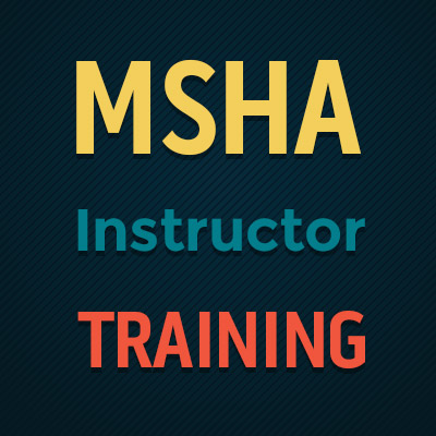 MSHA-instructor-training