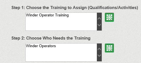 Assign Training