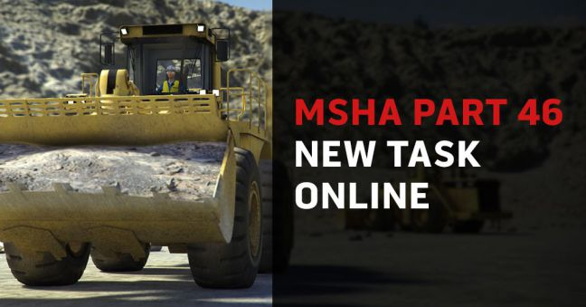 MSHA Part 46 New Training Training Online Image